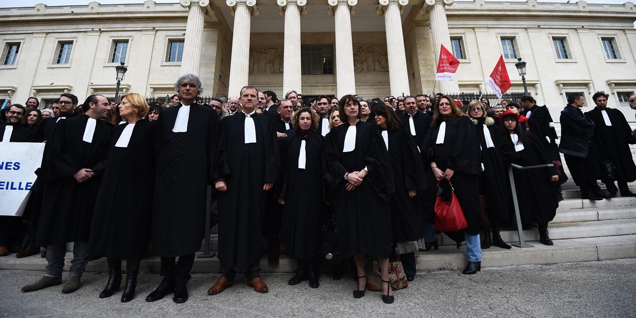 ASM-Mobilisation contre la réforme de la jusice en France