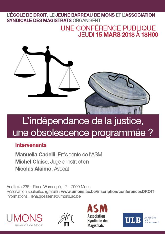 ASM-Parlons justice-Réformes de la justice-15 mars 2018