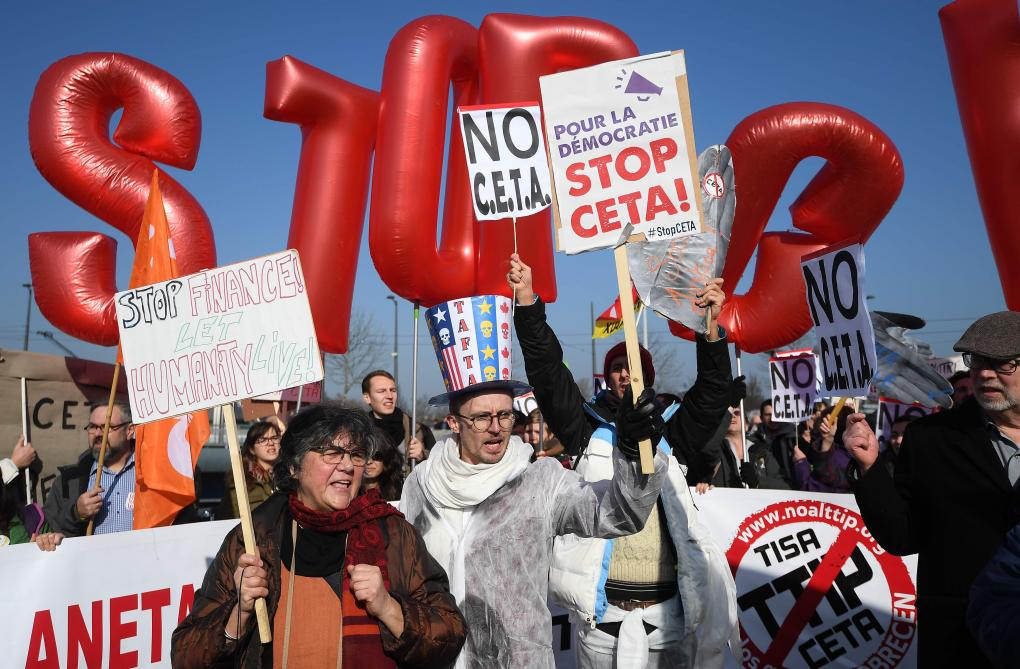 ASM-Manifestation anti CETA