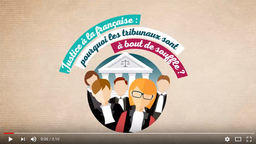 ASM-Etat de la justice en France