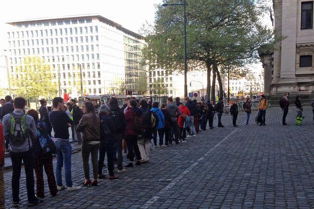 ASM-Action devant le Palais de Justice - Le Vif