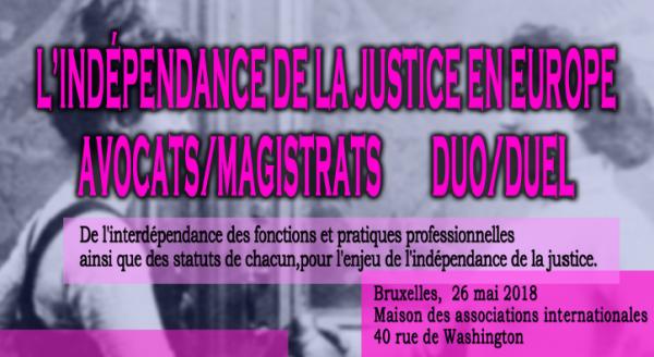 ASM-Indépendance de la Justice en Europe
