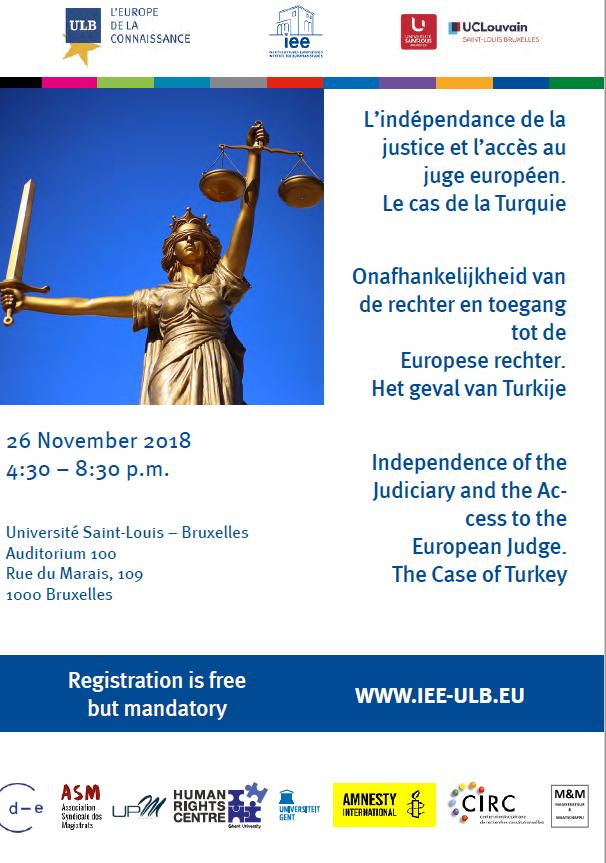Affiche Colloque Indépendance De La Justice