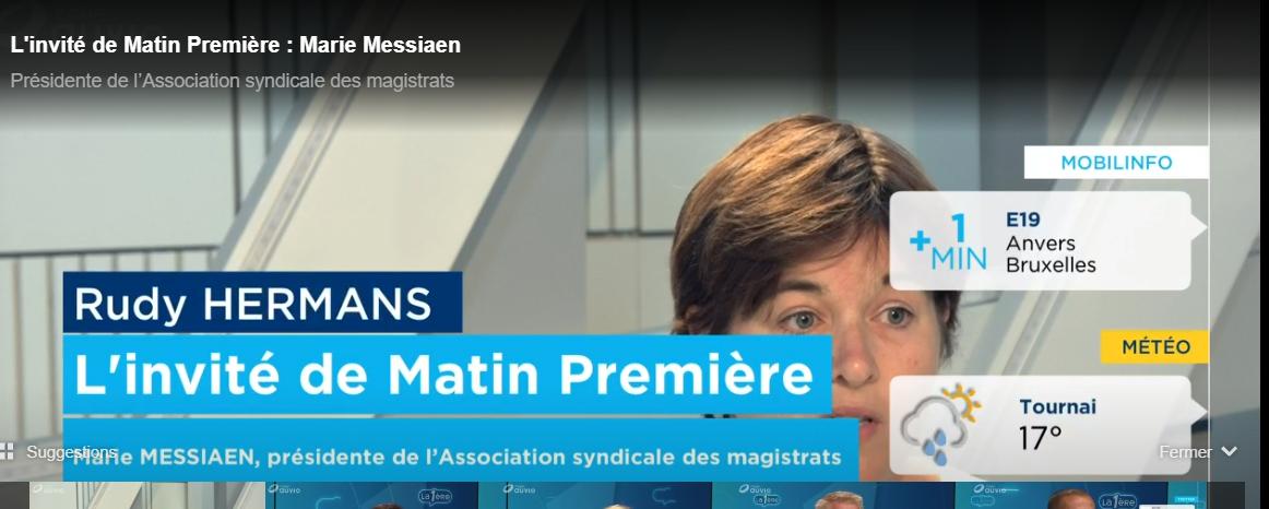 Marie Messiaen invité Matin Première